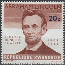 Buy [RW0093] Rwanda Sc. no. 93 (1965) MNG