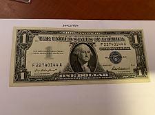 Buy United States Washington circulated blue banknote 1957 #52