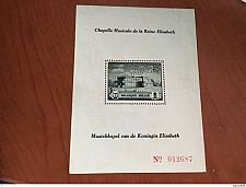 Buy Belgium Queen Elizabeth Music s/s mnh 1941 stamps