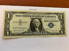 Buy United States Washington circulated blue banknote 1957 A #57