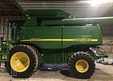 Buy 2005 John Deere 9660 STS Combine
