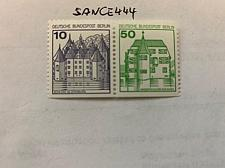 Buy Berlin Castle 10+50p bottom imperf. strip 1980 mnh stamps