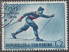 Buy [SM0365] San Marino Sc. no. 365 (1955) Used