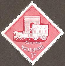 Buy [HU1504] Hungary: Sc. no. 1504 (1963) MNH