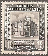 Buy [VZ0663] Venezuela: Sc. no. 663 (1955) Used