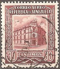 Buy [VZC601] Venezuela: Sc. no. C601 (1955) Used