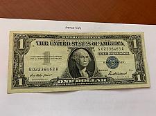 Buy United States Washington circulated blue banknote 1957 #60