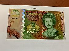 Buy Pitcairn Islands 20 pounds uncirc. banknote 2018