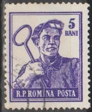 Buy [RO1025] Romania: Sc. no. 1025 (1955-1956) Used