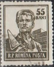 Buy [RO1029] Romania: Sc. no. 1029 (1955-1956) Used