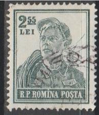 Buy [RO1033] Romania: Sc. no. 1033 (1955-1956) Used