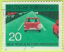 Buy [GE1057] Germany: Sc. no. 1055 (1971) Used