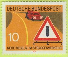 Buy [GE1056] Germany: Sc. no. 1056 (1971) Used
