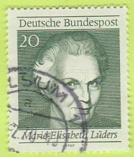 Buy [GE1007] Germany: Sc. no. 1007b (1969) Used