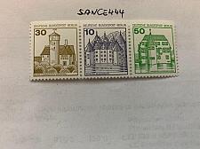 Buy Berlin Castle 30+10+50p top imperf. strip mnh 1980