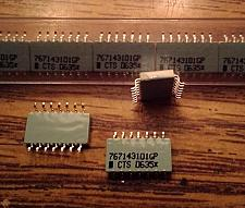 Buy Lot of 16: CTS 767143101GP Resistor Network