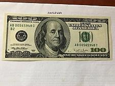 Buy United States Franklin $100.00 uncirc. banknote 1996 #2