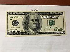 Buy United States Franklin $100.00 uncirc. star banknote 1996 #3 ( born may 1 1977? )