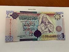 Buy Libya 1 dinara uncirc. banknote 2009 #1