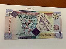 Buy Libya 1 dinara uncirc. banknote 2009 #2