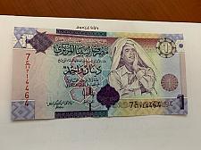 Buy Libya 1 dinara uncirc. banknote 2009 #3