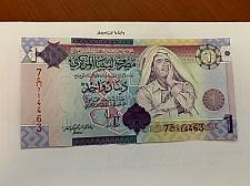 Buy Libya 1 dinara uncirc. banknote 2009 #5