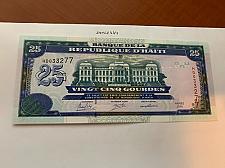 Buy Haiti 25 gourdes uncirc. banknote 2015 #1
