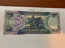 Buy Guyana 100 dollars uncirc. banknote 2012