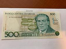 Buy Brazil 500 cruzados uncirc. banknote 1988