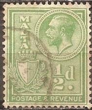 Buy [ML0132] Malta: Sc. no. 132 (1926-1927) Used