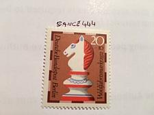 Buy Berlin Welfare Chess 20+10p mnh 1972 stamps