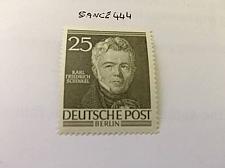 Buy Berlin Famous K. Schinkel architect mnh 1952 stamps