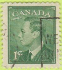 Buy [CA0284] Canada Sc. no. 284 (1949) Used