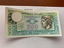 Buy Italy Mercurio 500 lire uncirc. banknote 1974 #4