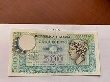 Buy Italy Mercurio 500 lire uncirc. banknote 1974 #6
