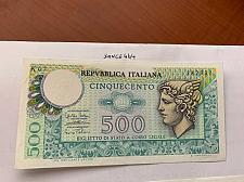Buy Italy Mercurio 500 lire uncirc. banknote 1974 #8