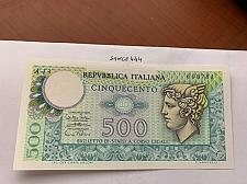 Buy Italy Mercurio 500 lire uncirc. banknote 1974 #10