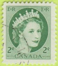 Buy [CA0338] Canada Sc. no. 338 (1954-1961) Used