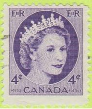 Buy [CA0340] Canada Sc. no. 340 (1954-1961) Used