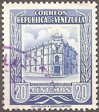Buy [VZ0664] Venezuela: Sc. no. 664 (1955) Used