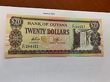 Buy Guyana 20 dollars uncirc. banknote 1982 #2
