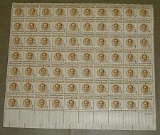 Buy US, Scott# 1110, four cent Simon Bolivar sheet of 70 stamps (0105)
