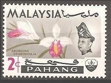 Buy [MAP084] Malaysia (Pahang): Sc. no. 84 (1965) MNH