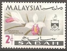 Buy [MAS018] Malaysia (Sabah): Sc. no. 18 (1965) MNH