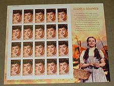 Buy US, Scott# 4077, thirty-nine cent Judy Garland sheet of 20 stamps (0107)