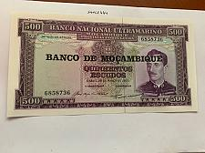Buy Mozambique 500 escudos uncirc. banknote 1967 #1