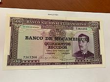 Buy Mozambique 500 escudos uncirc. banknote 1967 #2