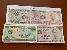 Buy Vietnam lot of 4 uncirc. banknotes #2