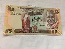 Buy Zambia 5 kwacha uncirc. banknote 2008 #1