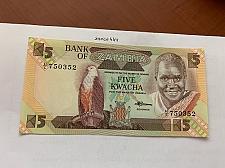 Buy Zambia 5 kwacha uncirc. banknote 2008 #2